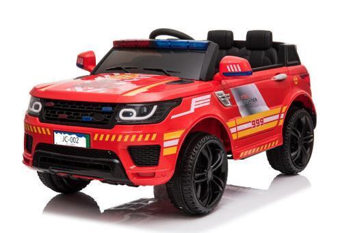 """Kinderfahrzeug - Elektro Auto """"Feuerwehr RR002"""" - 12V7AH Akku,2 Motoren- 2,4Ghz Fernsteuerung, MP3+Sirene-3"""