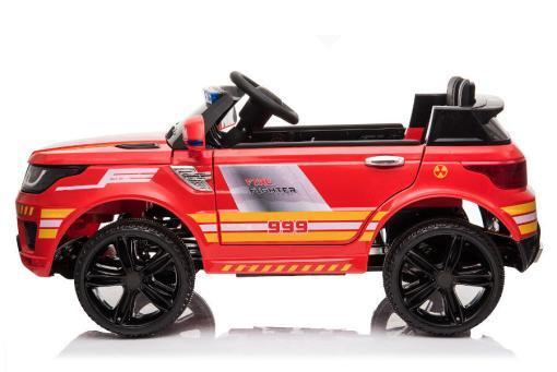 """Kinderfahrzeug - Elektro Auto """"Feuerwehr RR002"""" - 12V7AH Akku,2 Motoren- 2,4Ghz Fernsteuerung, MP3+Sirene-4"""