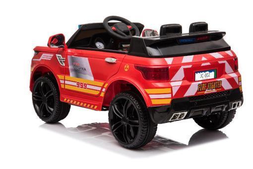"""Kinderfahrzeug - Elektro Auto """"Feuerwehr RR002"""" - 12V7AH Akku,2 Motoren- 2,4Ghz Fernsteuerung, MP3+Sirene-5"""