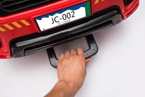 """Kinderfahrzeug - Elektro Auto """"Feuerwehr RR002"""" - 12V7AH Akku,2 Motoren- 2,4Ghz Fernsteuerung, MP3+Sirene-7"""