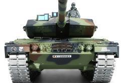 ferngesteuerter panzer leopard 2a6 deutsch pro mit metallgetriebe und metallketten - 3