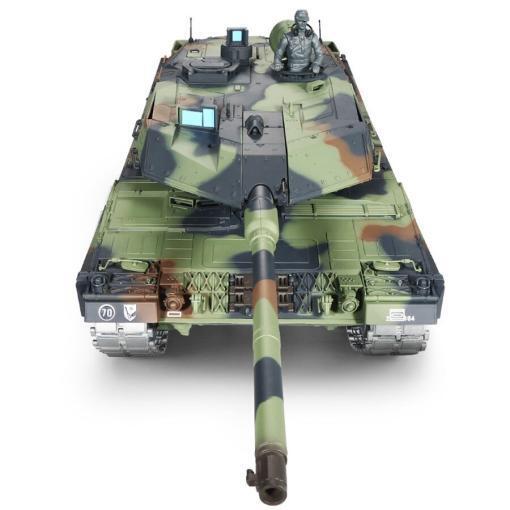 ferngesteuerter panzer leopard 2a6 deutsch pro mit metallgetriebe und metallketten - 4
