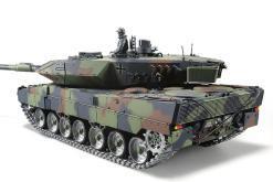 ferngesteuerter panzer leopard 2a6 deutsch pro mit metallgetriebe und metallketten - 5