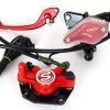 Bremssystem vorne für E-Scooter Chopper: Bremshebel, Bremsschlauch, Bremssattel, Bremsbeläge usw.-11