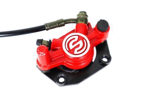 Bremssystem vorne für E-Scooter Chopper: Bremshebel, Bremsschlauch, Bremssattel, Bremsbeläge usw.-44
