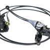 Bremssystem vorne für Coco Bike E-Scooter: Bremshebel, Bremsschlauch, Bremssattel, Bremsbeläge usw.-11