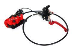 Bremssystem vorne für E-Scooter Chopper: Bremshebel, Bremsschlauch, Bremssattel, Bremsbeläge, Bremsflüssigkeit usw.-2
