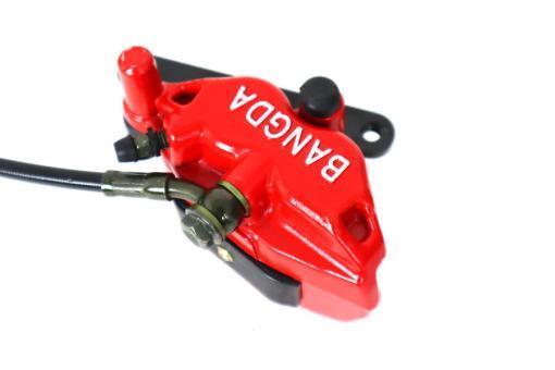 Bremssystem vorne für E-Scooter Chopper: Bremshebel, Bremsschlauch, Bremssattel, Bremsbeläge, Bremsflüssigkeit usw.-5