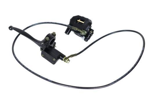 Bremssystem vorne für Coco Bike E-Scooter: Bremshebel, Bremsschlauch, Bremssattel, Bremsbeläge usw.
