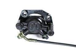 Bremssystem vorne für Coco Bike E-Scooter: Bremshebel, Bremsschlauch, Bremssattel, Bremsbeläge usw.-3